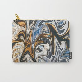 Gold Tsunami Carry-All Pouch