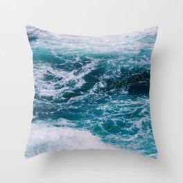 Deep Ocean Throw Pillow