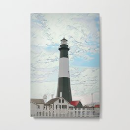 Tybee Island Light Station and Museum, Georgia, USA Metal Print
