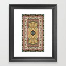 Persian Rug Design 1 Framed Art Print