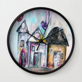 Homebirds Wall Clock