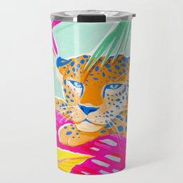 Vibrant Jungle Travel Mug