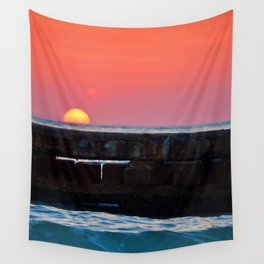Sunset over Siesta Key Wall Tapestry