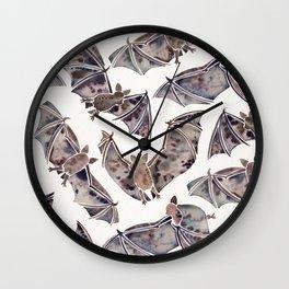 Bat Collection Wall Clock