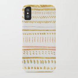 GOLD TRIBE iPhone Case