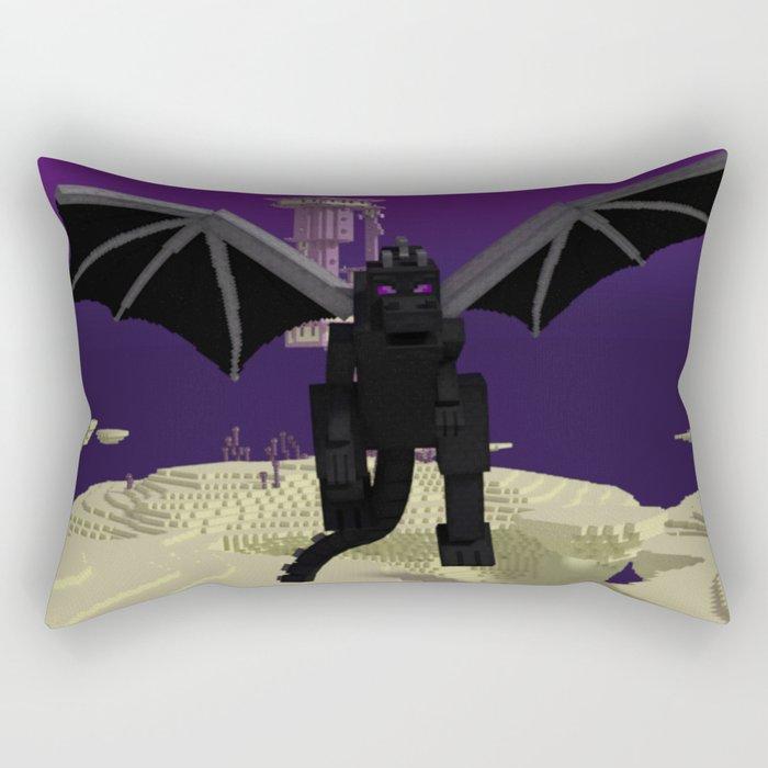 End Dragon Rectangular Pillow