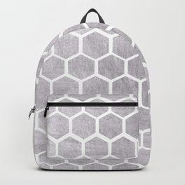 Silver bee cube Backpack
