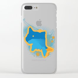 The Whale Clear iPhone Case