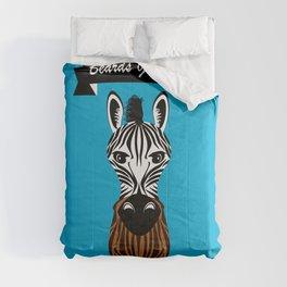 Zebra Beard Comforters