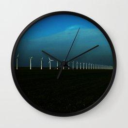 Windfarm Wall Clock