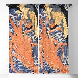 Lobster - Utagawa Kuniyoshi Blackout Curtain