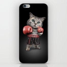 BOXING CAT iPhone Skin