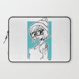 Tattoo Girl Laptop Sleeve