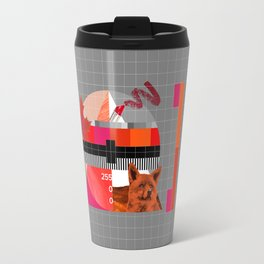 Waiting for the show to begin (Test Pattern 6) Travel Mug