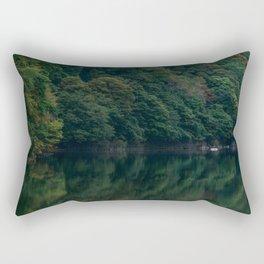 Green Palette Rectangular Pillow