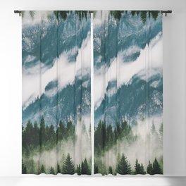 Misty Mountain Blackout Curtain