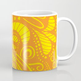 Mellow Yellow Parrot Coffee Mug