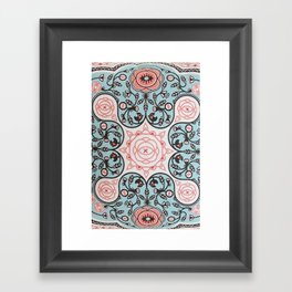 Paisly Prints Framed Art Print