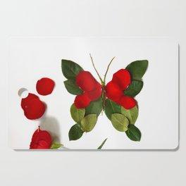 Butterfly-Rose Cutting Board