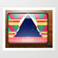 Kaleidoscope TV version C Art Print