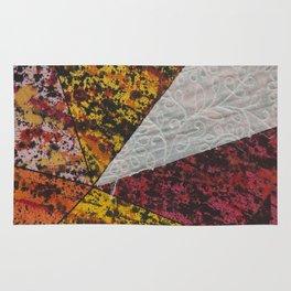 Corner Splatter # 13 Rug