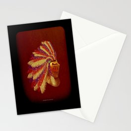 Indian Knight 141WP Stationery Cards
