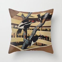 Art Museum Throw Pillow