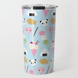 Japanese Kawaii Snacks Travel Mug