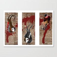 killer birds Canvas Print