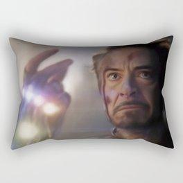 I Am Iron Man Rectangular Pillow