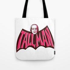 Tall Man - In a Bat Shape Tote Bag