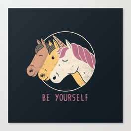Be Yourself Canvas Print