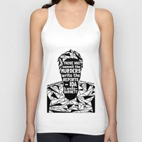 sandra dieckmann Tank Tops featuring Sandra Bland - Black Lives Matter - Series - Black Voices by NOxLA