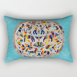 Otomi Party Rectangular Pillow