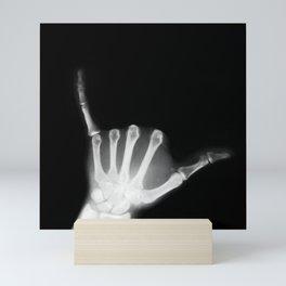 Hang Loose X-Ray Mini Art Print