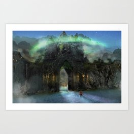 The Jade Gates Art Print