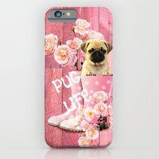 Pug Life Pink iPhone 6s Slim Case