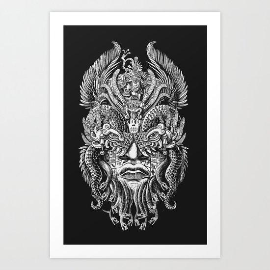 Queztalcoatl Art Print