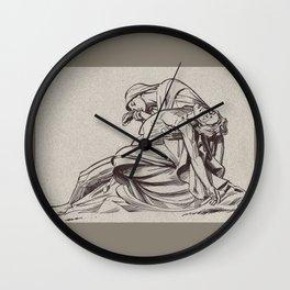 Pieta, St-Paul, London Wall Clock