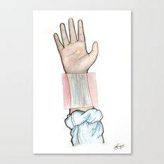 sensitive, it's true Canvas Print
