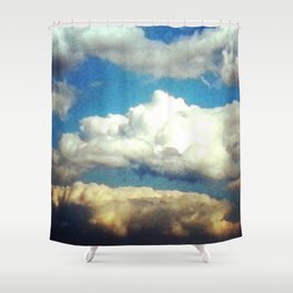 Beauteous May Sky Shower Curtain