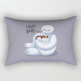 Big Hero -Hairy Baby  Rectangular Pillow