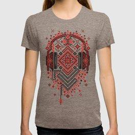Headphones Ornament T-shirt