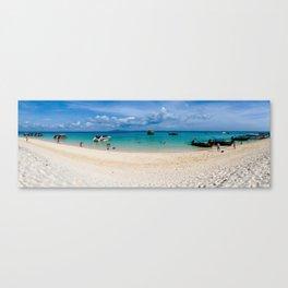 Bamboo Island, Phi Phi Islands, Thailand Canvas Print