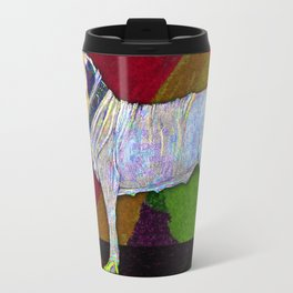 Mastifically Colorful Travel Mug