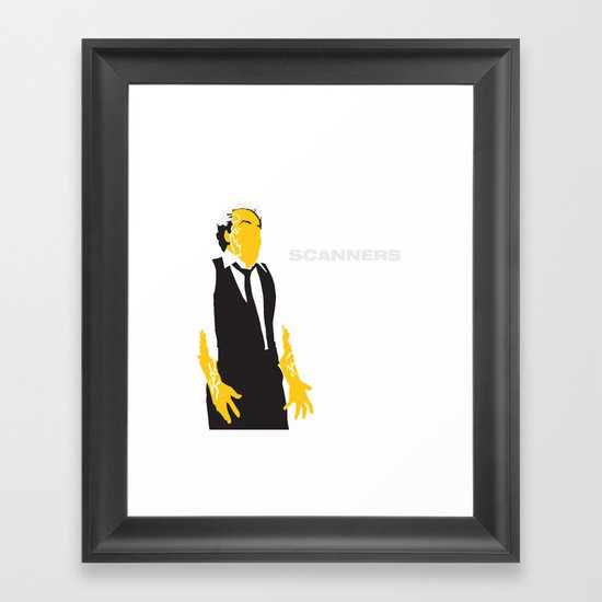 Scanners Framed Art Print
