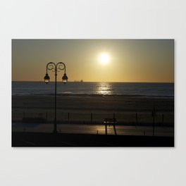 belmar sunrise  Canvas Print