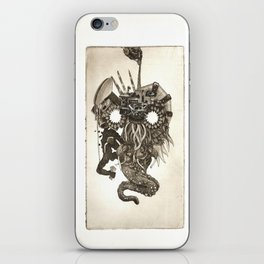 Oil Animal iPhone Skin