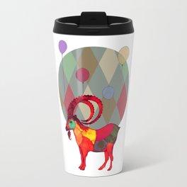 peaceful and happy Travel Mug