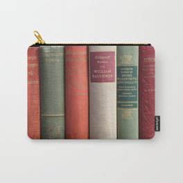 Old Books - Square Carry-All Pouch